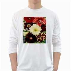 Flowers 1776585 1920 White Long Sleeve T Shirts