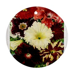 Flowers 1776585 1920 Round Ornament (two Sides)