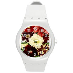 Flowers 1776585 1920 Round Plastic Sport Watch (m)