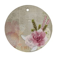 Scrapbook 1133667 1920 Ornament (round)