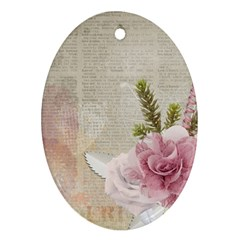 Scrapbook 1133667 1920 Oval Ornament (two Sides)