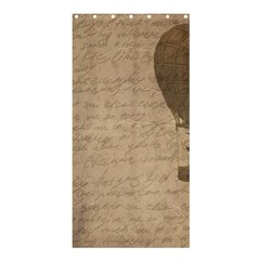 Letter Balloon Shower Curtain 36  X 72  (stall)