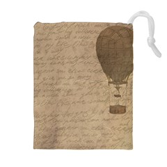 Letter Balloon Drawstring Pouches (extra Large)