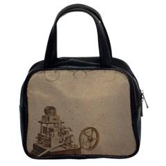 Camera Old Classic Handbags (2 Sides)