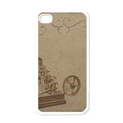 Camera Old Apple Iphone 4 Case (white)