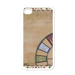 Circle Apple Iphone 4 Case (white)