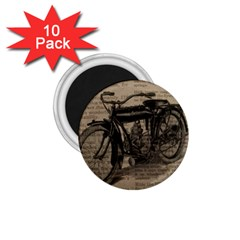 Bicycle Letter 1 75  Magnets (10 Pack)