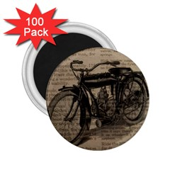 Bicycle Letter 2 25  Magnets (100 Pack)