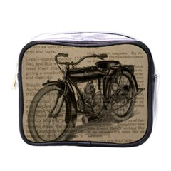 Bicycle Letter Mini Toiletries Bags