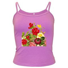 Flower Bouquet 1131891 1920 Dark Spaghetti Tank