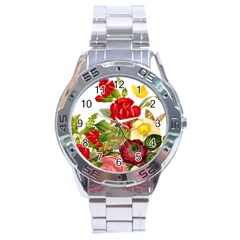 Flower Bouquet 1131891 1920 Stainless Steel Analogue Watch