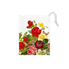Flower Bouquet 1131891 1920 Drawstring Pouches (small)