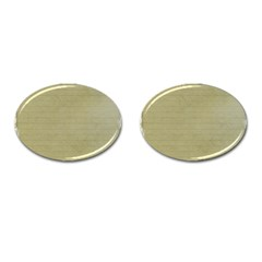 Old Letter Cufflinks (oval)