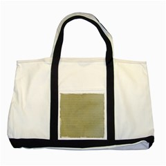Old Letter Two Tone Tote Bag