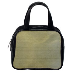 Old Letter Classic Handbags (one Side)