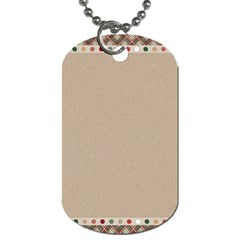 Background 1706649 1920 Dog Tag (one Side)