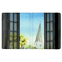 Town 1660455 1920 Apple Ipad 2 Flip Case