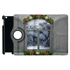 Winter 1660924 1920 Apple Ipad 2 Flip 360 Case