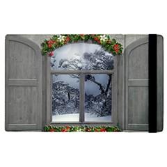 Winter 1660924 1920 Apple Ipad Pro 12 9   Flip Case