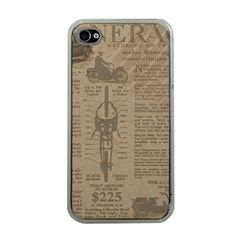 Background 1706636 1920 Apple Iphone 4 Case (clear)
