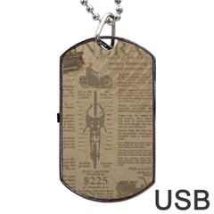 Background 1706636 1920 Dog Tag Usb Flash (one Side)