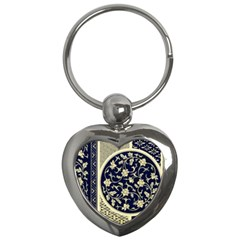 Background Vintage Japanese Key Chains (heart)
