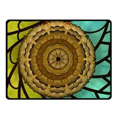 Kaleidoscope Dream Illusion Fleece Blanket (small)