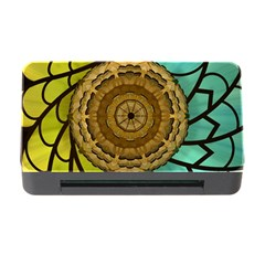Kaleidoscope Dream Illusion Memory Card Reader With Cf