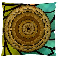 Kaleidoscope Dream Illusion Large Cushion Case (two Sides)