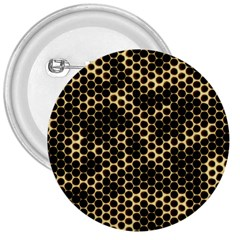 Honeycomb Beehive Nature 3  Buttons