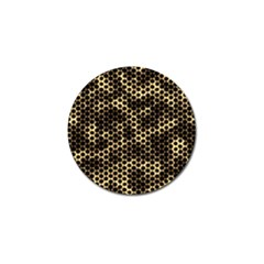 Honeycomb Beehive Nature Golf Ball Marker (4 Pack)