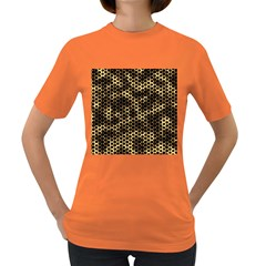 Honeycomb Beehive Nature Women s Dark T Shirt