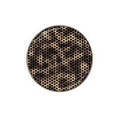 Honeycomb Beehive Nature Hat Clip Ball Marker (4 Pack)