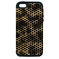 Honeycomb Beehive Nature Apple Iphone 5 Hardshell Case (pc+silicone)