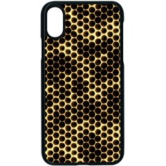 Honeycomb Beehive Nature Apple Iphone X Seamless Case (black)
