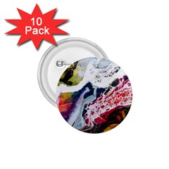 Abstract Art Detail Painting 1 75  Buttons (10 Pack)