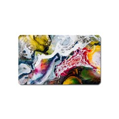 Abstract Art Detail Painting Magnet (name Card)