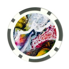 Abstract Art Detail Painting Poker Chip Card Guard (10 Pack)
