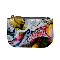 Abstract Art Detail Painting Mini Coin Purses