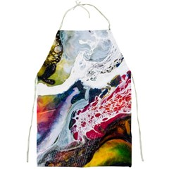 Abstract Art Detail Painting Full Print Aprons