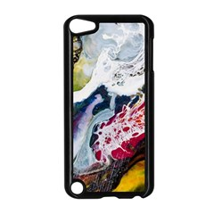 Abstract Art Detail Painting Apple Ipod Touch 5 Case (black)