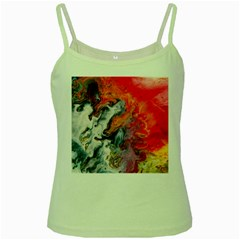 Art Abstract Macro Green Spaghetti Tank