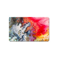 Art Abstract Macro Magnet (name Card)