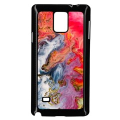 Art Abstract Macro Samsung Galaxy Note 4 Case (black)
