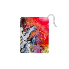 Art Abstract Macro Drawstring Pouches (xs)