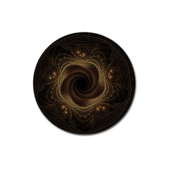 Beads Fractal Abstract Pattern Magnet 3  (round)