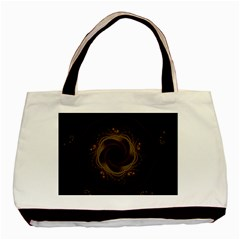 Beads Fractal Abstract Pattern Basic Tote Bag