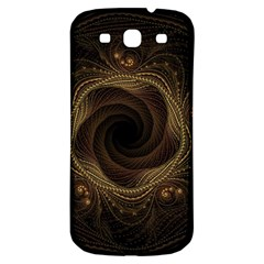 Beads Fractal Abstract Pattern Samsung Galaxy S3 S Iii Classic Hardshell Back Case