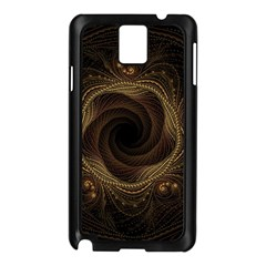 Beads Fractal Abstract Pattern Samsung Galaxy Note 3 N9005 Case (black)