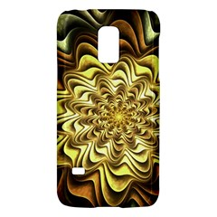 Fractal Flower Petals Gold Galaxy S5 Mini